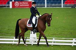 Dumas Millie (GBR) - Artistiek<br /> FEI World Championship for Young Horses Le Lion d'Angers 2012<br /> © Hippo Foto - Jon Stroud