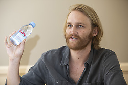 July 30, 2018 - Hollywood, CA, USA - Wyatt Russell (son of Kurt Russell) stars in the TV Series Lodge 49 (Credit Image: © Armando Gallo via ZUMA Studio)