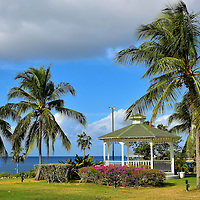 Gazebo at Pedro St. James Castle in Savannah, Grand Cayman <br />