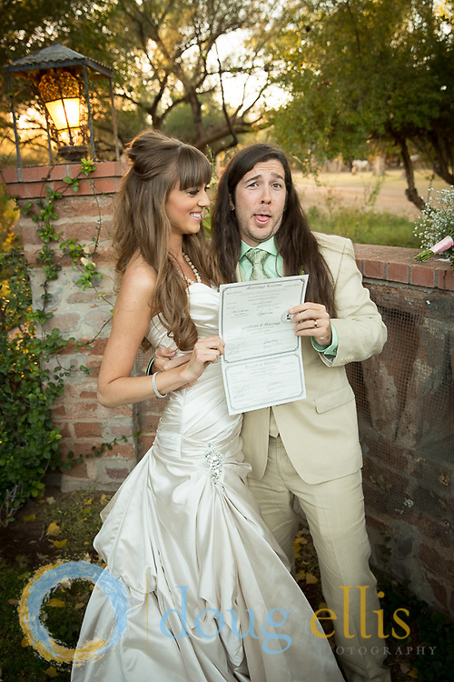 Jawna Endres and Remington Stickney location wedding photography by Santa Barbara wedding photographer Doug Ellis.