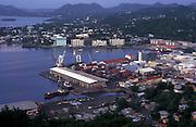 ST LUCIA: Castries Harbour