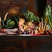 délidis, wild, stilleven, groenten, fruit