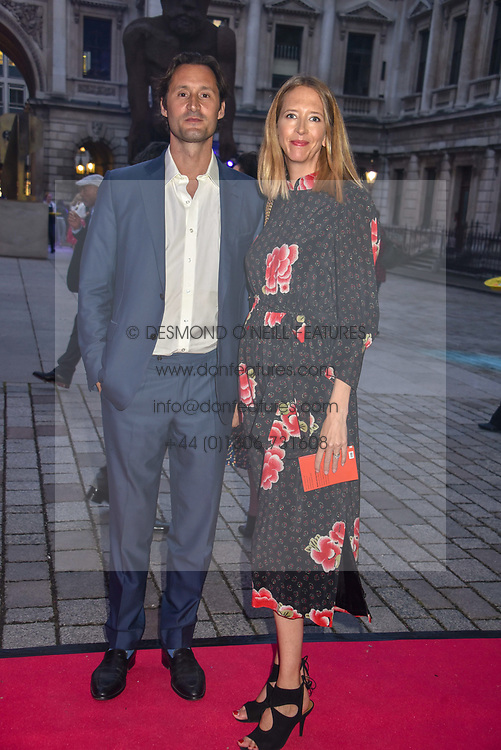 Jonathan & Flora Goodwin at The Royal Academy of Arts Summer Exhibition Preview Party 2019, Burlington House, Piccadilly, London England. 04 June 2019.