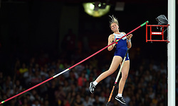 26-08-2015 CHN: IAAF World Championships Athletics day 5, Beijing<br /> Holly Bradshaw, pole vault<br /> Photo by Ronald Hoogendoorn / Sportida