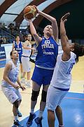 Pomezia, 17/05/2015<br /> Basket, Nazionale italiana Femminile <br /> Amichevole <br /> Italia - Gran Bretagna<br /> Nella foto: Emily Correal<br /> Foto Ciamillo