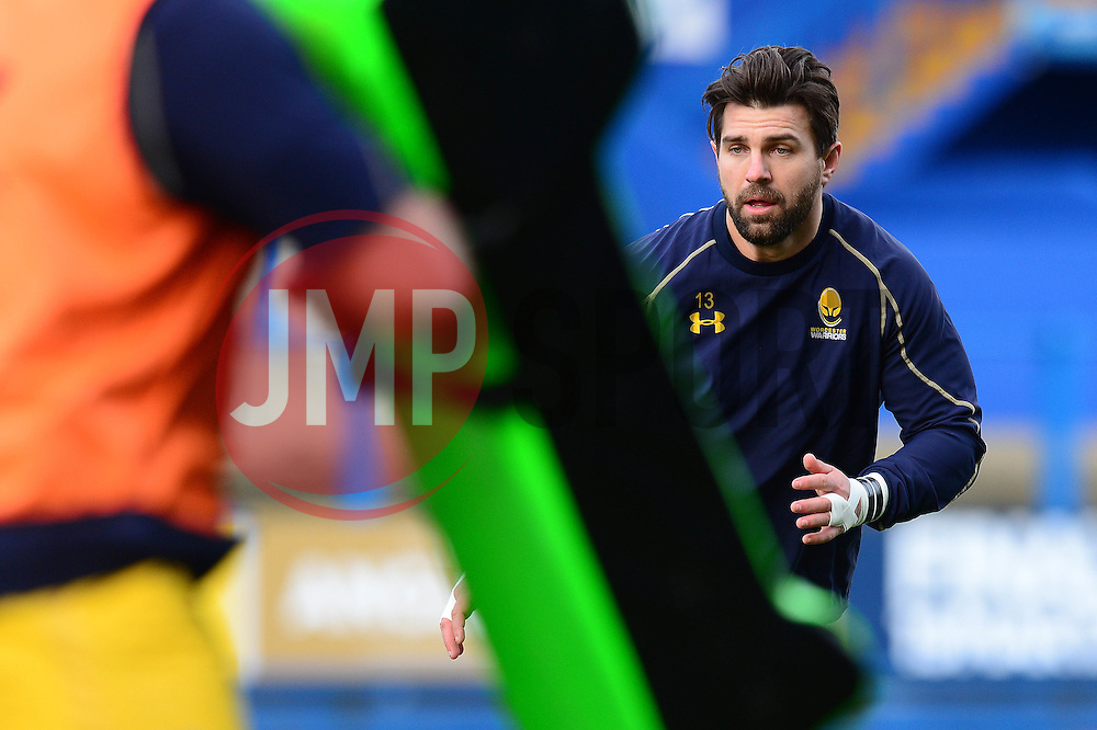 Wynand Olivier of Worcester Warriors - Mandatory by-line: Dougie Allward/JMP - 04/02/2017 - RUGBY - BT Sport Cardiff Arms Park - Cardiff, Wales - Cardiff Blues v Worcester Warriors - Anglo Welsh Cup