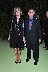 SIR TERENCE & LADY CONRAN at a dinner hosted by Cartier in celebration of the Chelsea Flower Show held at Battersea Power Station, 188 Kirtling Street, London SW8 on 23rd May 2011.