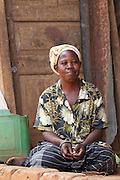 Nusula Ssewanonda is a member of Kirangira Womens group in Mukono District, Uganda. She recently sold a bull calf and has invested the money in drainpipes and a big water tank. She now collects rainwater from the roof of her house and sells it to people in her village. She then used this money to install bio gas.
