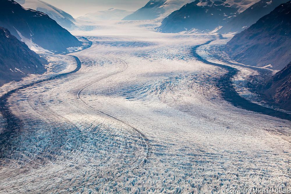 Salmon Glacier at Stewart, British Columbia.