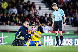 March 28, 2017 - Funchal, Madeira, Portugal - 16. Emil Krafth,..Sweden defeated Portugal 3-2 in a friendly game at Estadio do Maritimo, Madeira, Portugal 2017-03-28..(c) ERICSSON MARCUS  / Aftonbladet / IBL BildbyrÃ¥....* * * EXPRESSEN OUT * * *....AFTONBLADET / 85729 (Credit Image: © Aftonbladet/IBL via ZUMA Wire)