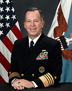 Admiral Michael Glenn 'Mike' Mullen, USN (born October 4, 1946) is the 17th and current Chairman of the Joint Chiefs of Staff (CJCS). Mullen previously served as the Navy's 28th Chief of Naval Operations from July 22, 2005 to September 29, 2007. His other four-star assignments include being the Commander, U.S. Naval Forces Europe and Commander, Allied Joint Force Command Naples from October 2004 to May 2005, and as the 32nd Vice Chief of Naval Operations from August 2003 to August 2004. Mullen assumed his current assignment on October 1, 2007.