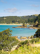 View ofTaiaue Bay and Te Ngaere, Northland, New Zealand.