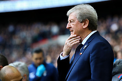 Crystal Palace manager Roy Hodgson rubs his chin, side profile - Mandatory by-line: Jason Brown/JMP - 05/11/2017 - FOOTBALL - Wembley Stadium - London, England - Tottenham Hotspur v Crystal Palace - Premier League