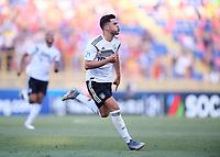 FUSSBALL UEFA U21-EUROPAMEISTERSCHAFT Halbfinale 2019  in Italien  Deutschland - Rumaenien    27.06.2019 JUBEL Deutschland, Torschuetze zum 4-2 Nadiem Amiri