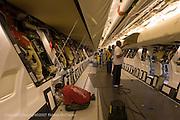Boeing 737 final assembly line at Boeing Renton Plant in Renton Washington