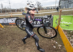 13.01.2019, Wien, AUT, ÖRV, Rad Radcross Staatsmeisterschaft, Damen Elite im Bild Lisa Pasteiner (AUT, GHOST Factory Racing) // during womens elite cyclo cross championship, Vienna, Austria on 2019/01/03. EXPA Pictures © 2019, PhotoCredit: EXPA/ R. Eisenbauer