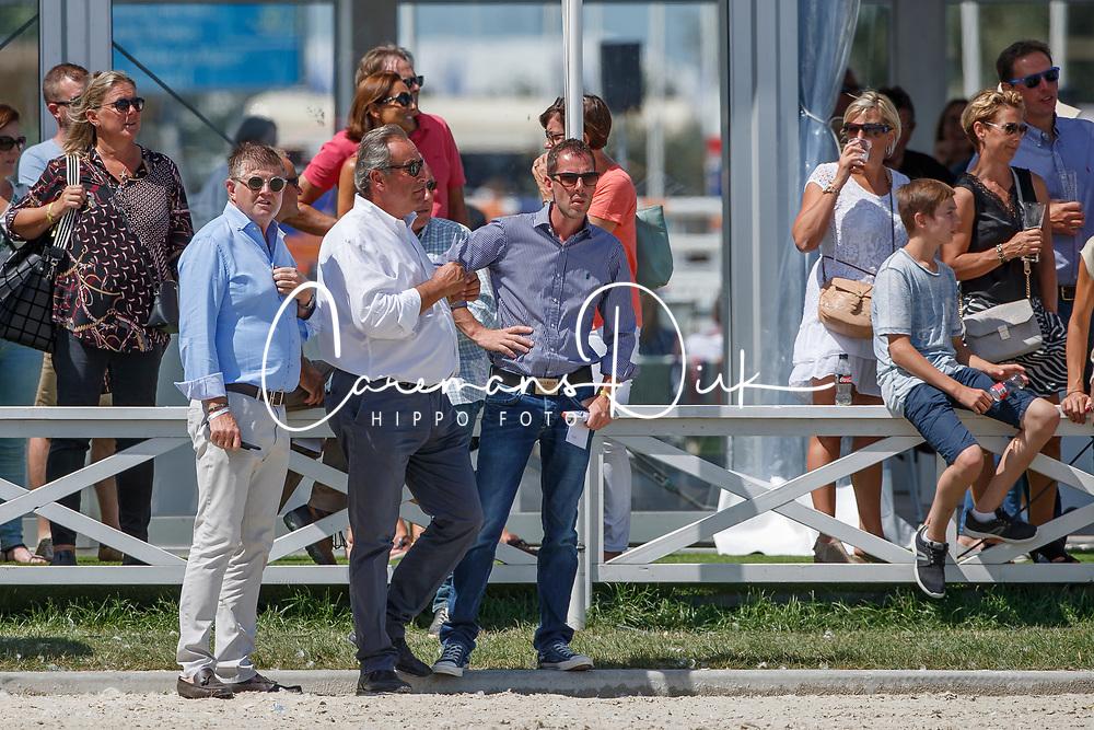 Conter Stefan, BEL, Vezzani Uliano, ITA<br /> Grand Prix CSI 3* - Knokke 2017<br /> &copy; Hippo Foto - Dirk Caremans<br /> 09/07/2017