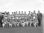 Tipperary Minor Gaelic football team at the All Ireland football final in Croke Park on 25th September 1955.