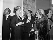 """Margaret Burke Sheridan (second from right), La Scala Milan, at Inauguration of Italian Cultural Institute.20/04/1954..Margaret Burke-Sheridan (15/10/1889 —16/04/1958) was an Irish opera singer. Born in Castlebar, Co Mayo, Ireland, she was known as Maggie from Mayo and is regarded as Ireland's second prima donna (after Catherine Hayes (1818-1861))..She was a soprano and for 12 years performed at La Scala and Covent Garden where she enthralled the opera-goers. When she played the part of Madame Butterfly, Puccini was spellbound. Bríd Mahon in her 1998 book While Green Grass Grows p 123, states that: """"It was rumoured that an Italian whose overtures she had rejected had blown his brains out in a box in La Scala, Milan, while she was on stage and that after the tragedy she never sang in public again."""" She died in relative obscurity in 1958 and her remains buried in Glasnevin cemetery, Dublin.."""