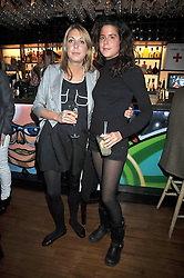 Left to right, CAMILLA STOPFORD-SACKVILLE and DAISY FRASER at a party to celebrate the opening of Barts, Sloane Ave, London on 26th February 2009.