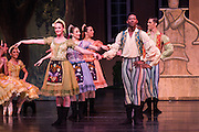 Bay Pointe Ballet performs Coppelia at the San Mateo Performing Arts Center in San Mateo, California, on February 22, 2015. (Stan Olszewski/SOSKIphoto)