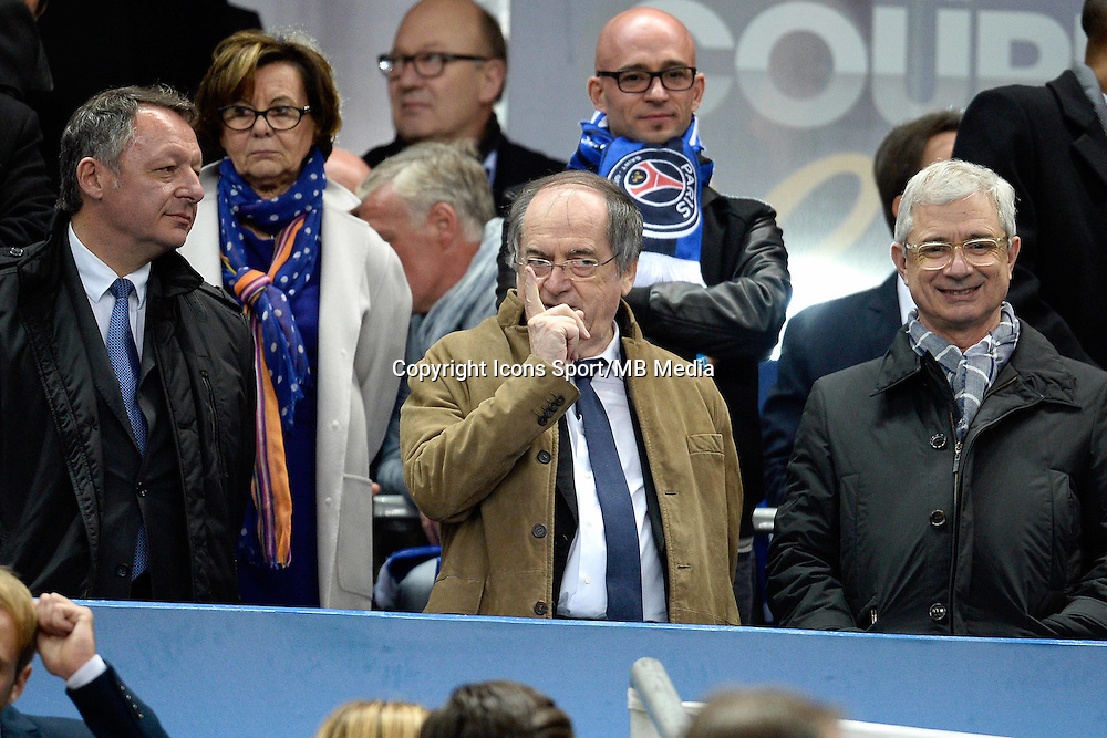 THIERRY BRAILLARD  / NOEL LE GRAET / CLAUDE BARTOLONE  - 11.04.2015 -  Bastia / PSG - Finale de la Coupe de la Ligue 2015<br />