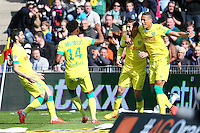 Joie Nantes - Alejandro BEDOYA - 05.04.2015 - Nantes / Caen - 31eme journee de Ligue 1<br />