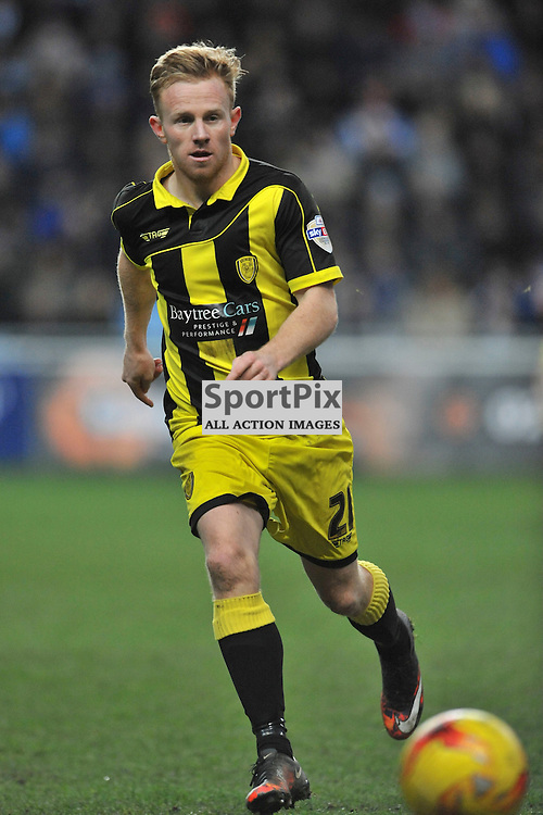 Mark Duffy  Burton Albion, Coventry City v Burton Albion, Ricoh Arena,  Sky Bet League 1, Saturday 16th JJanuary 2016, (Mike Capps/Sportpix)