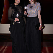 Westminster, UK. 20th Apr, 2017. Kate Clarke blogger whisper and blush & Melissa Greenwood attends The annually National UK Blog Awards at Park Plaza Westminster Bridge, London. by See Li