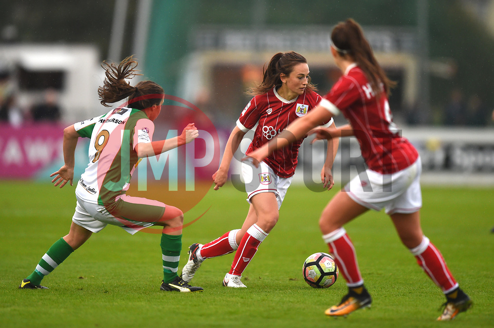 Chloe Arthur of Bristol City Women in action against Yeovil Town Ladies - Mandatory by-line: Paul Knight/JMP - 30/09/2017 - FOOTBALL - Stoke Gifford Stadium - Bristol, England - Bristol City Women v Yeovil Town Ladies - FA Women's Super League 1