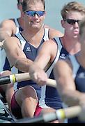St Catherines, CANADA,  Men's Eight. USA M8+.Bryan VOLPENHEIN (b) , Robert KAEHLER (2) , Peter COLLINS (3) , Tom WELSH (4) , Michael WHERLEY (5) , Jeffrey KLEPACKI (6) , Garrett MILLER (7) , Christian AHRENS (s) , Pete CIPOLLONE (c) the 1999 World Rowing Championships - Martindale Pond, Ontario. 08.1999..[Mandatory Credit; Peter Spurrier/Intersport-images]  ..St Catherines, CANADA,  Men's Eight. USA M8+. .Bryan VOLPENHEIN (b) , Robert KAEHLER (2) , Peter COLLINS (3) , Tom WELSH (4) , Michael WHERLEY (5) , Jeffrey KLEPACKI (6) , Garrett MILLER (7) , Christian AHRENS (s) , Pete CIPOLLONE (c) 1999 World Rowing Championships - Martindale Pond, Ontario. 08.1999..[Mandatory Credit; Peter Spurrier/Intersport-images]   ...St Catherines, CANADA,  Men's Eight. USA M8+. .Bryan VOLPENHEIN (b) , Robert KAEHLER (2) , Peter COLLINS (3) , Tom WELSH (4) , Michael WHERLEY (5) , Jeffrey KLEPACKI (6) , Garrett MILLER (7) , Christian AHRENS (s) , Pete CIPOLLONE (c) 1999 World Rowing Championships - Martindale Pond, Ontario. 08.1999..[Mandatory Credit; Peter Spurrier/Intersport-images]   ... 1999 FISA. World Rowing Championships, St Catherines, CANADA