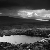 Corrour and Blackwater from the 'road to the isles'
