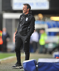 GIANFRANCO ZOLA MANAGER BIRMINGHAM CITY, Ipswich Town v Birmingham City EFL Sky Bet Championship, Portman Road, Saturday 1st April 2017: Score 1-1<br /> Photo:Mike Capps