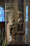 25/08/15 - ORCIVAL - PUY DE DOME - FRANCE - La Vierge de Notre Dame d Orcival - Photo Jerome CHABANNE