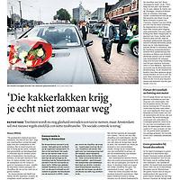 Trouw 3 juni 2013: nieuwe regels nette taxibranche