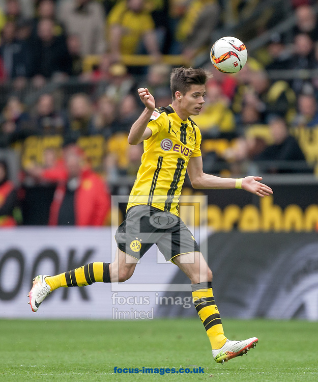 Julian Weigl of Borussia Dortmund during the Bundesliga match at Signal Iduna Park, Dortmund<br /> Picture by EXPA Pictures/Focus Images Ltd 07814482222<br /> 14/05/2016<br /> ***UK &amp; IRELAND ONLY***<br /> EXPA-EIB-160515-0082.jpg