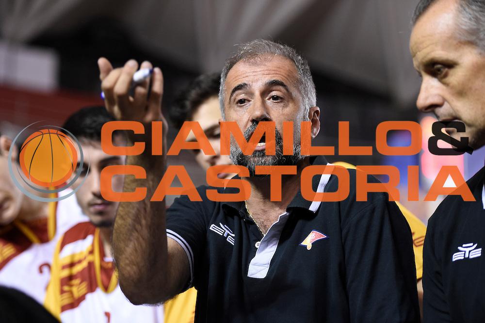 Fabio Corbani<br /> Unicusano Roma - Benacquista Assicurazioni Latina<br /> Campionato Basket LNP 2016/2017<br /> Roma 06/11/2016<br /> Foto Ciamillo-Castoria