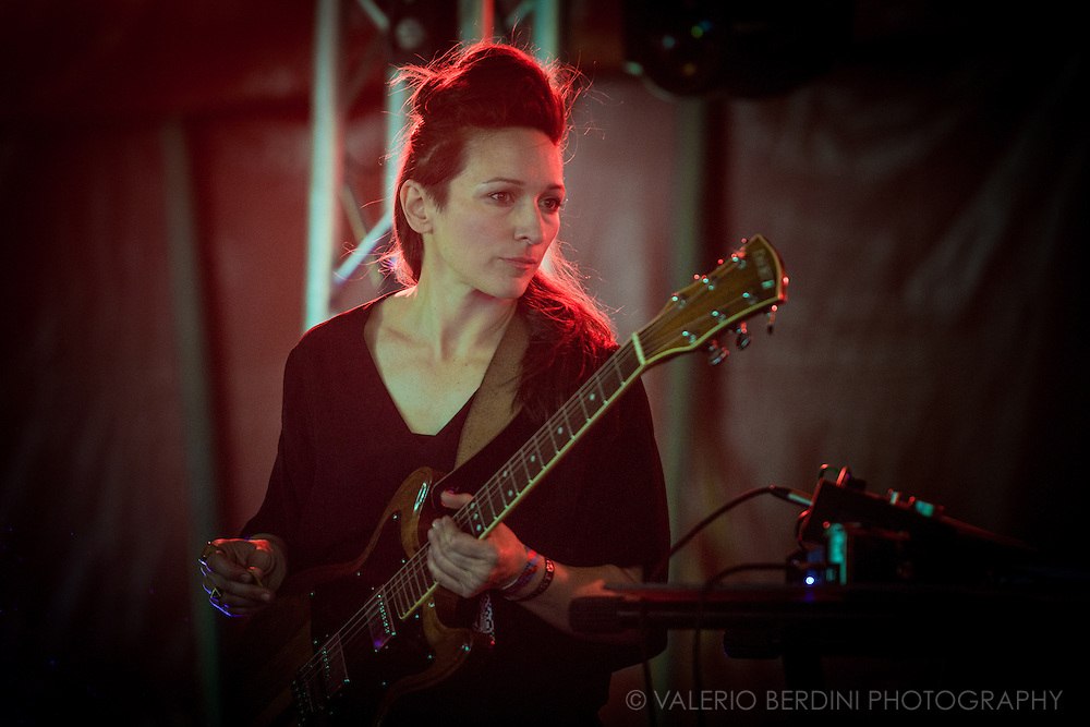 Shara Worden of My Brightest Diamond live on stage at Field Day 2015 in Victoria Park, London