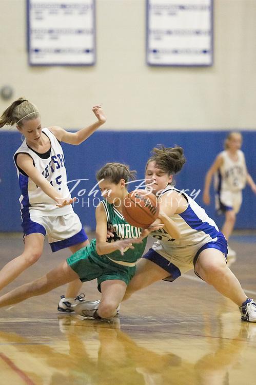 MCHS 8th Grade Girls..vs Greene..First Period..December 13, 2004