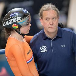 01-03-2018: Wielrennen: WK Baan: Apeldoorn<br />Laurine van Riessen plaatst zich voor de achtste finale
