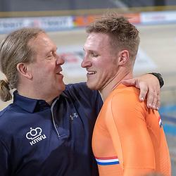 28-02-2018: Wielrennen: WK Baan: Apeldoorn<br />Bill Huck, Jeffrey Hoogland