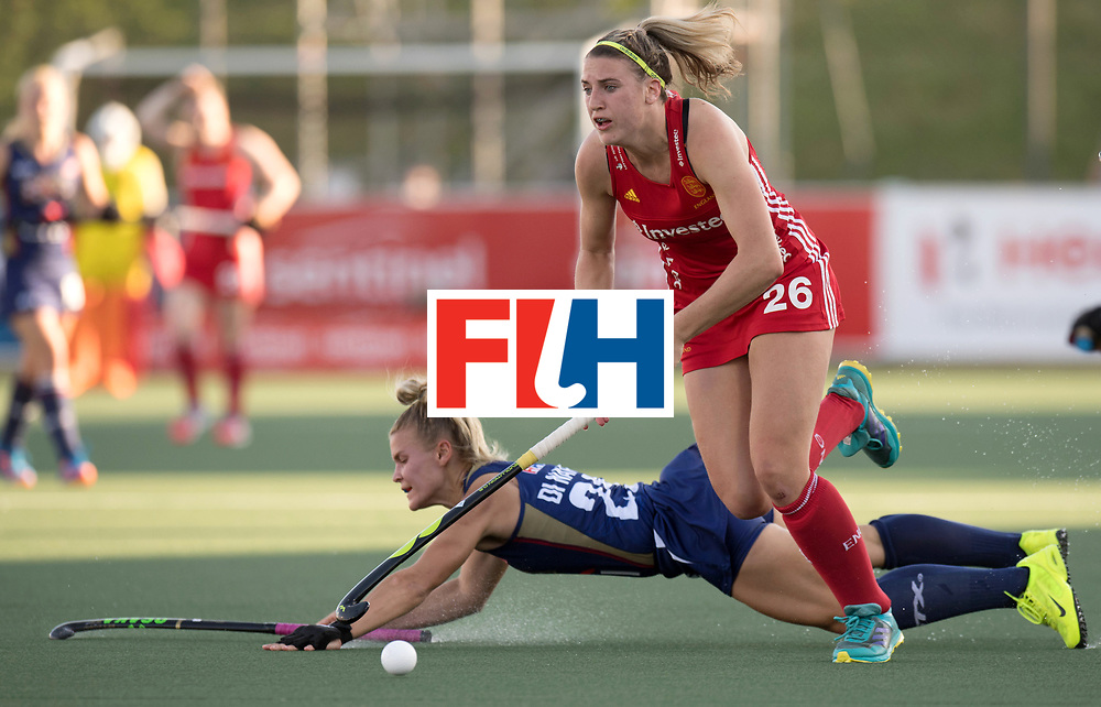 AUCKLAND - Sentinel Hockey World League final women<br /> Match id: 10304<br /> 15 USA v ENG (QF)<br /> Foto: Lily Owsley <br /> WORLDSPORTPICS COPYRIGHT FRANK UIJLENBROEK