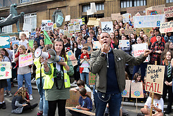 School Strike for Climate, Norwich, UK, Friday 20 September 2019 - Norwich South Labour MP Clive Lewis speaking