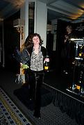 SOPHI TRANCHELL ( DIVINE CHOCOLATE) Veuve Cliquot Business Woman Award. Berkeley Hotel 8 April 2008.  *** Local Caption *** -DO NOT ARCHIVE-© Copyright Photograph by Dafydd Jones. 248 Clapham Rd. London SW9 0PZ. Tel 0207 820 0771. www.dafjones.com.