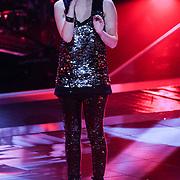 NLD/Hilversum/20121109 - The Voice of Holland 1e liveuitzending, Tessa Belinfante