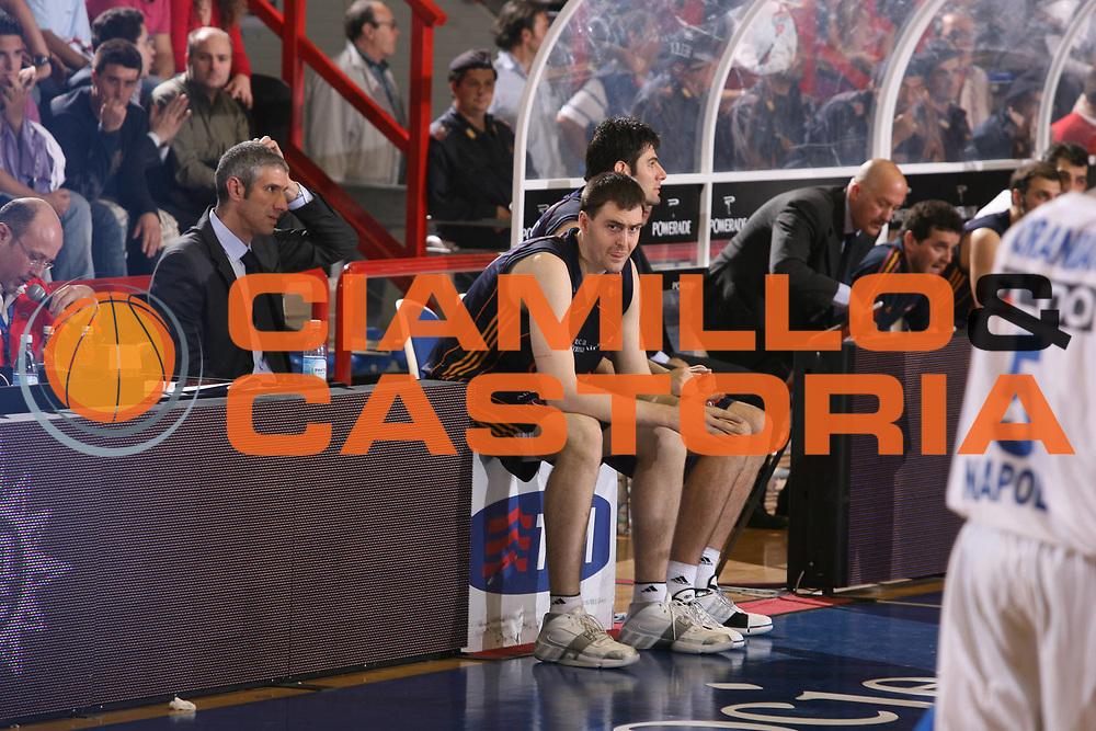 DESCRIZIONE : Napoli Lega A1 2006-07 Playoff Quarti di Finale Gara 2 Eldo Napoli Lottomatica Virtus Roma <br /> GIOCATORE : Lorbek <br /> SQUADRA : Lottomatica Virtus Roma <br /> EVENTO : Campionato Lega A1 2006-2007 Playoff Quarti di Finale Gara 2<br /> GARA : Eldo Napoli Lottomatica Virtus Roma <br /> DATA : 20/05/2007 <br /> CATEGORIA : Ritratto <br /> SPORT : Pallacanestro <br /> AUTORE : Agenzia Ciamillo-Castoria/G.Ciamillo