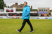 Forest Green Rovers manager, Mark Cooper during the Vanarama National League first leg play off match between Dagenham and Redbridge and Forest Green Rovers at the London Borough of Barking and Dagenham Stadium, London, England on 4 May 2017. Photo by Shane Healey.