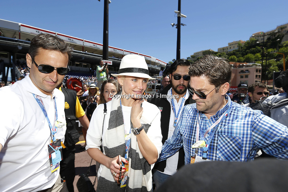 59707367 .Actress Cameron Diaz attends Formula One Grand Prix of Monaco on May 26, 2013, in Monte Carlo, Monaco..UK ONLY