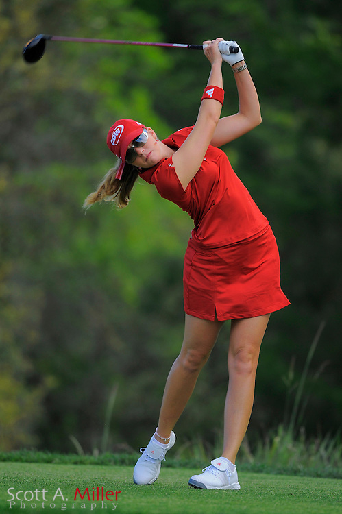 Paula Creamer in action during the second round of the Ginn Open at Reunion Resort on April 18, 2008 in Reunion, Florida...©2008 Scott A. Miller