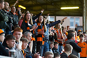 30th August 2019; Dens Park, Dundee, Scotland; Scottish Championship, Dundee Football Club versus Dundee United; Dundee United fans